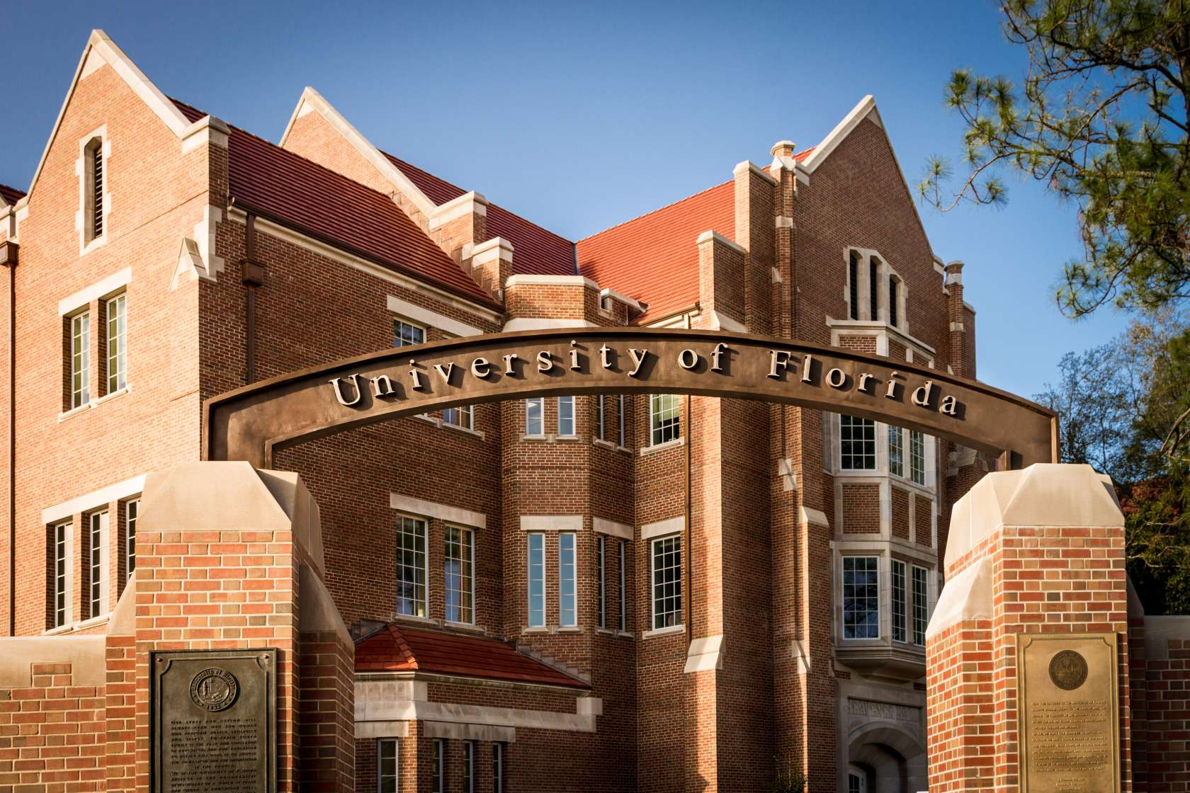 UF entrance photo